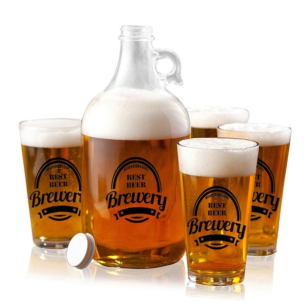 Brewery Growler Set