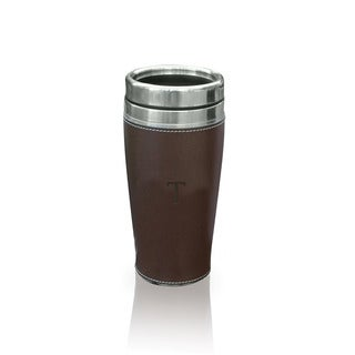 Personalized Brown Executive Travel Tumbler