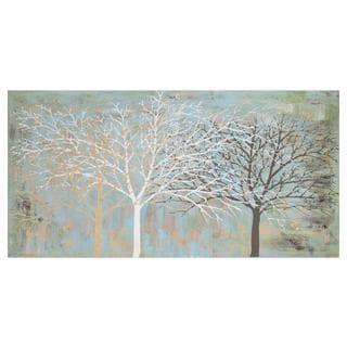 Sparse Wood Unframed Canvas Art