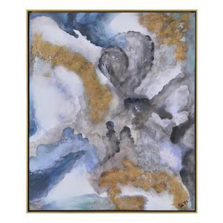 Winter Storm Framed Canvas Art