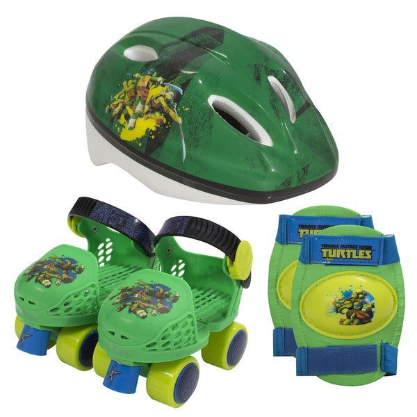 PlayWheels Boys Jr. Skate Combo with Helmet and Knee Pads