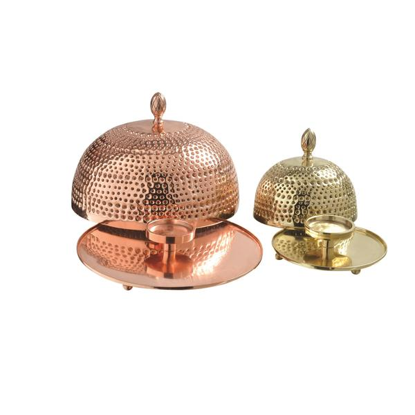 Renwil Inc - CAN099 - Crustulam - 7.6 Small Candle Holder (Set of 2) 16280349