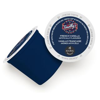 Timothy's World Coffee French Vanilla K-Cup Portion Pack