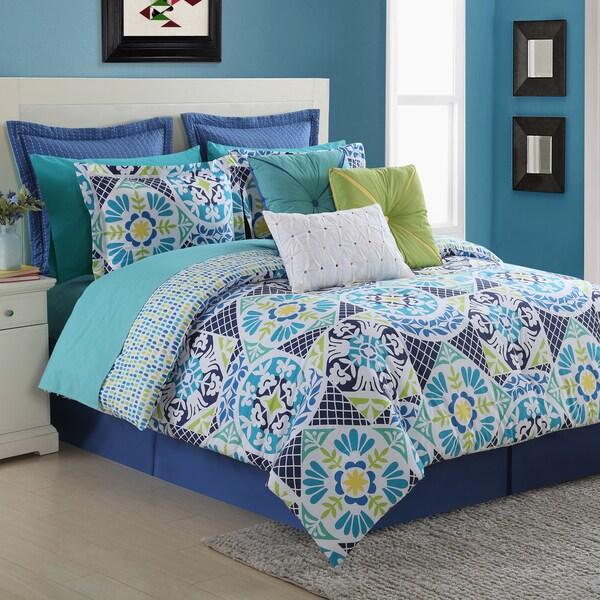 Fiesta Tile Comforter Set