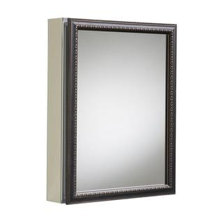 Pegasus 24 Inch X 30 Inch Recessed Or Surface Mount Mirrored Medicine Cabinet