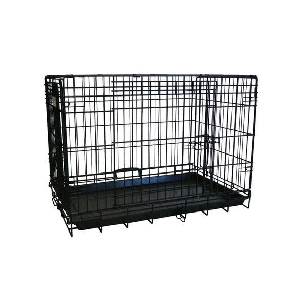 YML Premium Heavy Duty Collapsible Dog/ Cat Crate