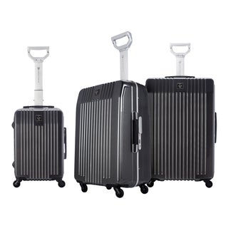 Traveler's Club Jetset 2.0 3-Piece Aluminum Frame Hardside Spinner Luggage Set