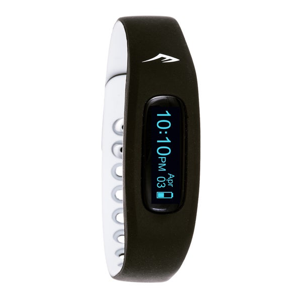 Everlast Wireless Fitness Activity Waterproof Tracker W/LED Display / Sleep White TR2 Monitor Watch