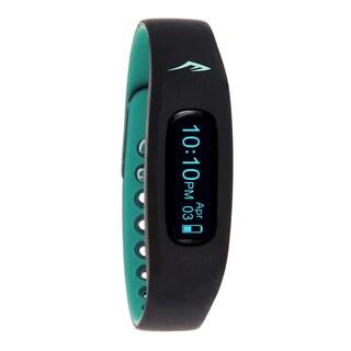 Everlast Wireless Fitness Activity Waterproof Tracker W/LED Display / Sleep Turquoise TR2 Monitor Watch