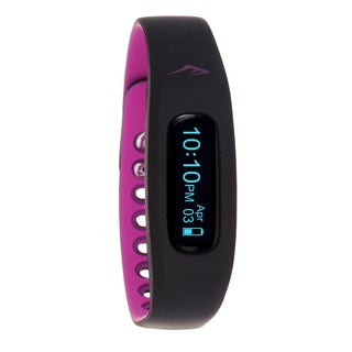 Everlast Wireless Fitness Activity Waterproof Tracker W/LED Display / Sleep Pink TR2 Monitor Watch