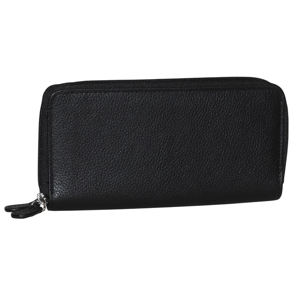 Roma Double Zip Around Clutch