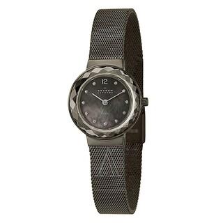 Skagen Women's SK-456SMM1 Grenen Titanium/ Steel Mesh Watch