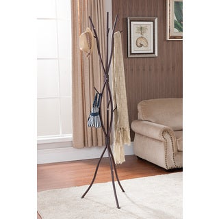 K&B Brown Branch Coat Rack