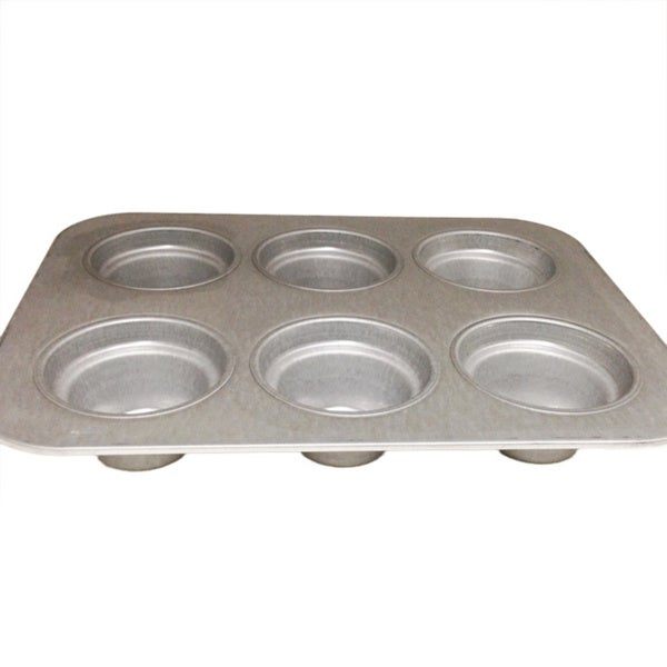 Chicago Metallic Commercial 6-cup Crown Muffin Pan