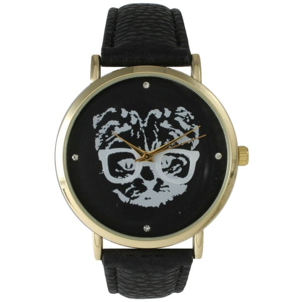 Olivia Pratt Women's Hipster Cat Watch