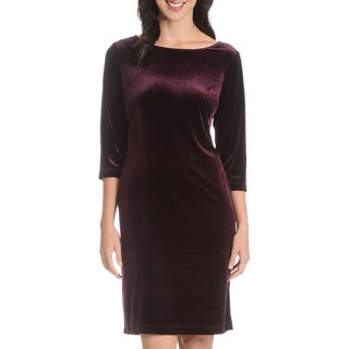 Danillo Boutique Women's Velveteen Dress