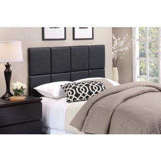 Foremost Tessa Headboard Tiles in Matte Black PU