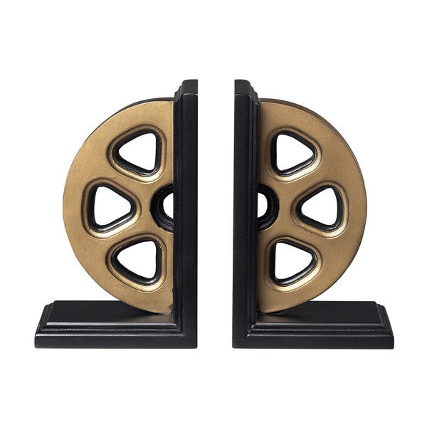 Sterling Movie Reel Bookends
