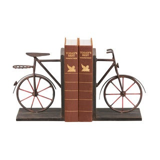 Sterling Pair Bicycle Bookends