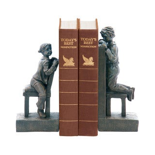 Sterling Pair Peek A Boo Bookends