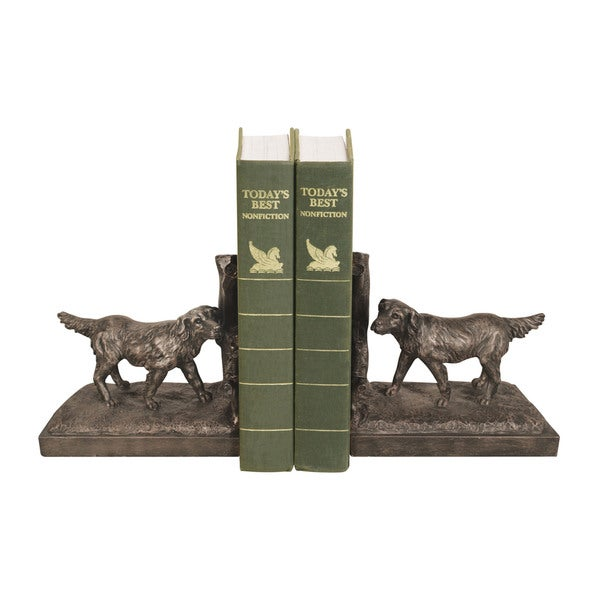 Sterling Retriever Bookends