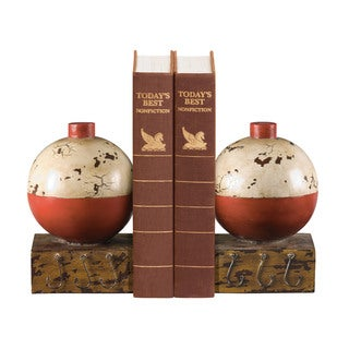Sterling Fishing Bobber Bookends