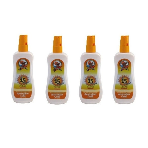 Australian Gold 8-ounce SPF 15 Spray Gel Sunscreen (Pack of 2 or 4)