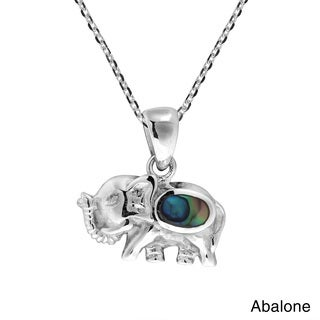 Enchanting Baby Elephant .925 Sterling Silver Necklace (Thailand)