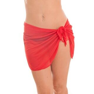 Dippin' Daisy's Red Short Mesh Sarong