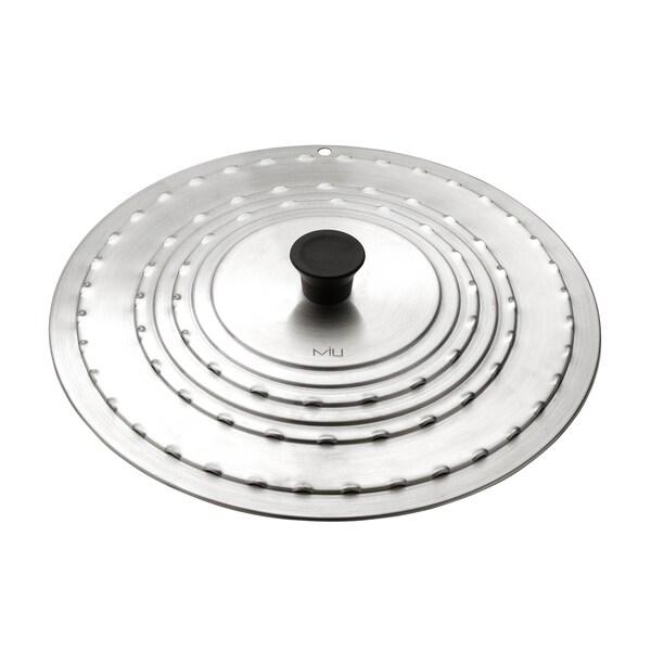 stainless steel universal fry pan lid