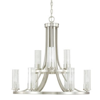 Capital Lighting Donny Osmond Emery Collection 9-light Brushed Nickel Chandelier