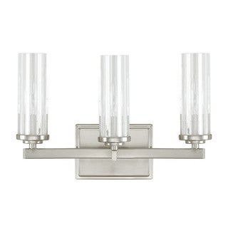 Capital Lighting Donny Osmond Emery Collection 3-light Brushed Nickel Bath/Vanity