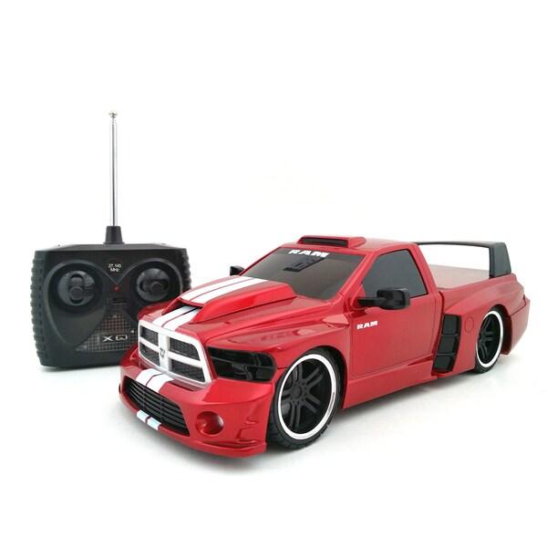 Tri Band Remote Control 1 18 Extreme Machines Dodge Ram