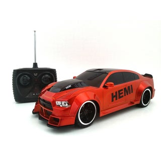TRI Band Remote Control 1:18 Extreme Machines Dodge Charger Remote Control Car