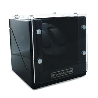 Steinhausen Black Wood Finish Multi-mode Watch Winder