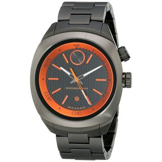Movado Men's 3600213 'Bold' Black Stainless Steel Watch