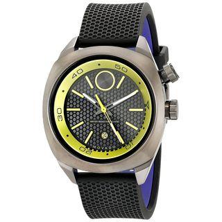 Movado Men's 3600211 'Bold' Black Silicone Watch