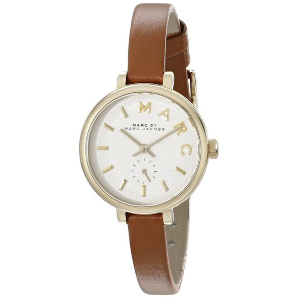 Marc Jacobs Women's MBM1351 'Sally' Brown Leather Watch
