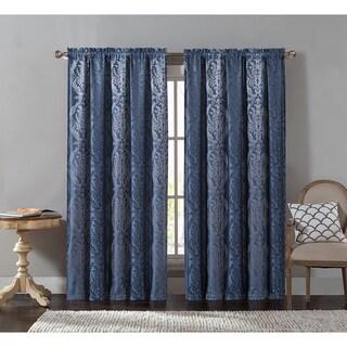 VCNY Lowell Rod Pocket Curtain Panel