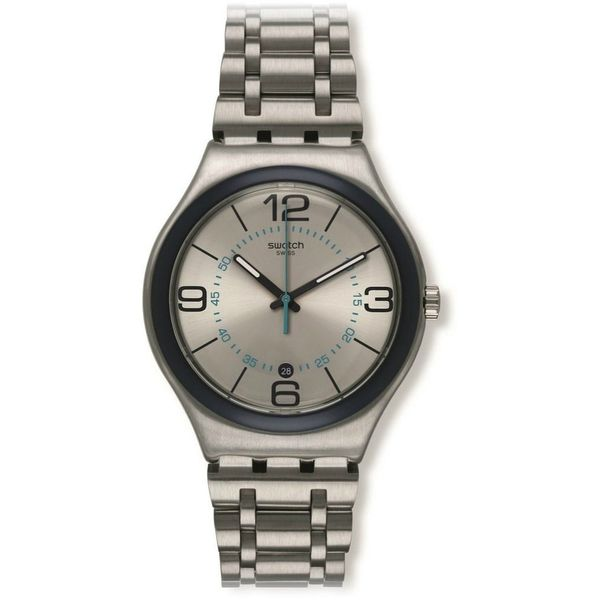 Swatch Unisex YWS413G 'Cycle Me' Stainless Steel Watch