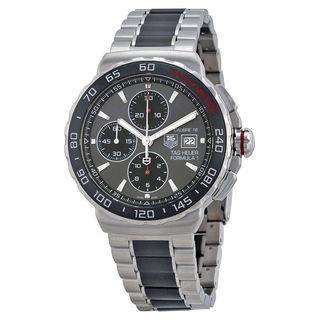 Tag Heuer Men's CAU2011.BA0873 'Formula One' Chronograph Automatic Two-Tone Ceramic Watch