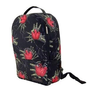 Flower Bomb Deluxe Laptop Backpack