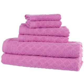 Windsor Home 18-Piece Towel Set - Pink