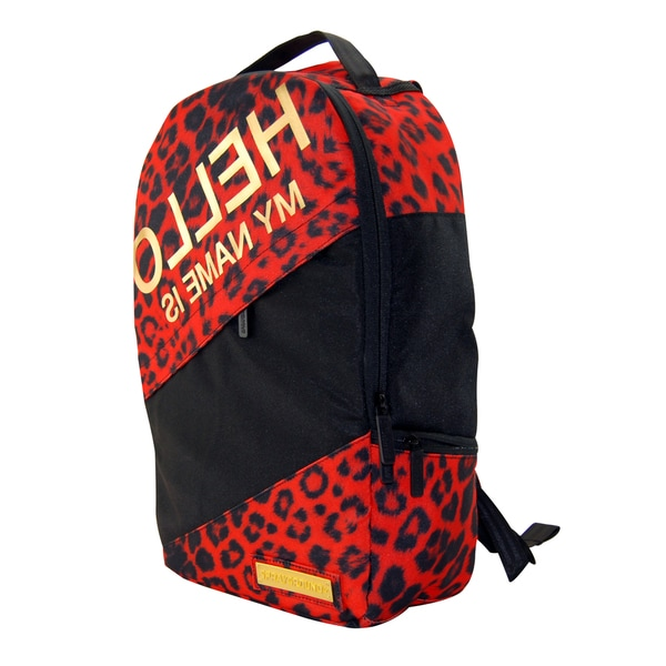 Hello Leopard Deluxe Laptop Backpack