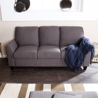 Holly & Martin Anthracite Plushen Sofa