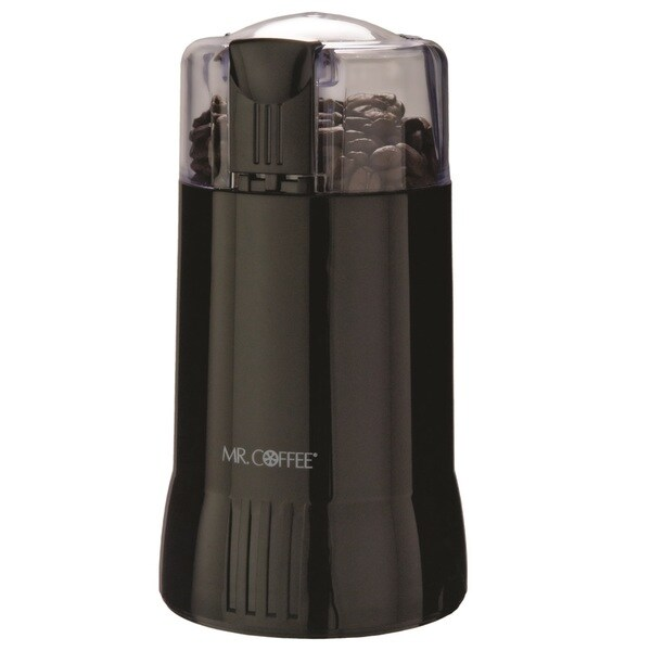 Mr. Coffee Ids57-rb Black Blade Grinder