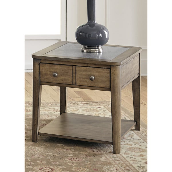 compare one industries silven end table prices