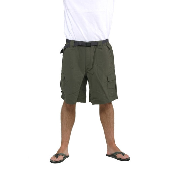 The North Face Men's Taupe Green Paramount Cargo Shorts