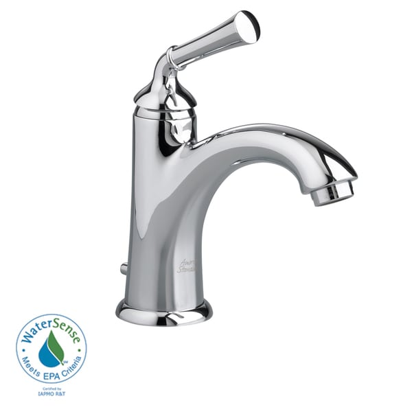 Amercian Standard Portsmouth Single Control Monoblock Lavatory Faucet with Brass Traditional Spout