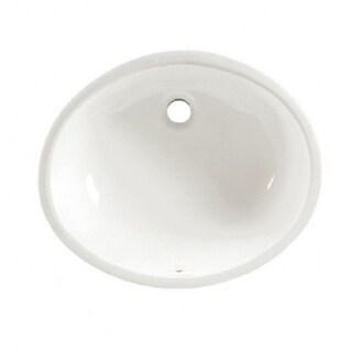 American Standard Ovalyn Vitreous China Bathroom Sink